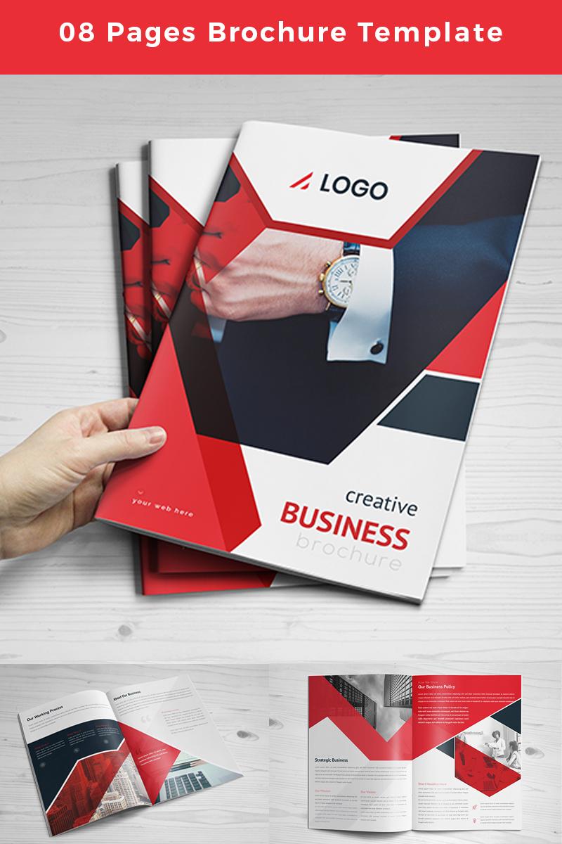"""Unternehmensidentität Vorlage namens """"Nenana-pages-Brochure"""" #86759"""