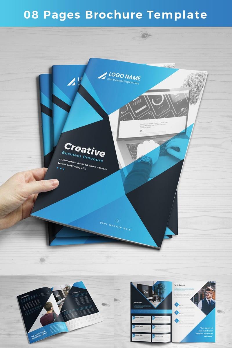 """Unternehmensidentität Vorlage namens """"Purnia-pages-Brochure"""" #86767"""