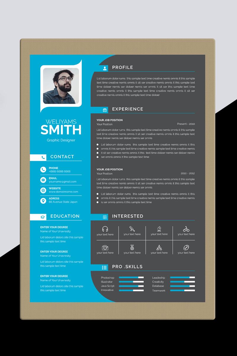 Weliyams Smith Resume Template