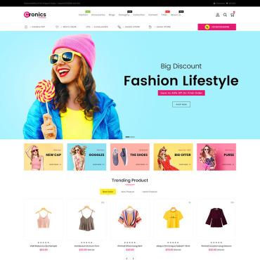 Купить  пофессиональные Shopify шаблоны. Купить шаблон #86809 и создать сайт.