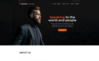Speaker - Event Planner Multipage Creative HTML Website Template