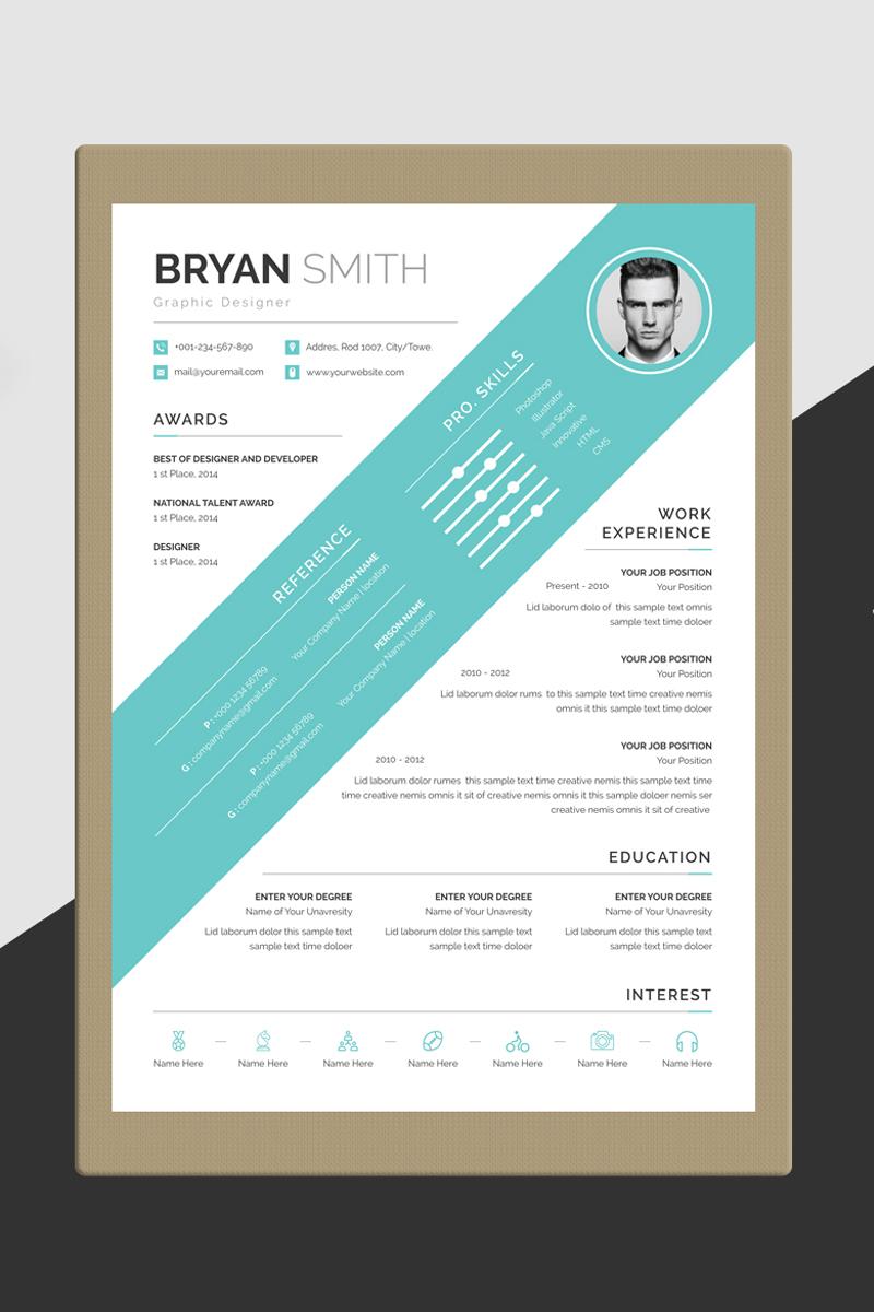 Bryan Smith Word Resume Template
