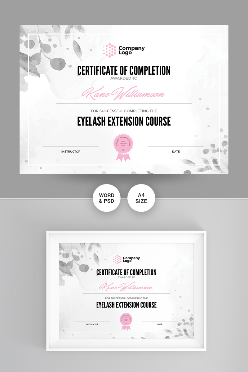 Company Certificate Template 86867