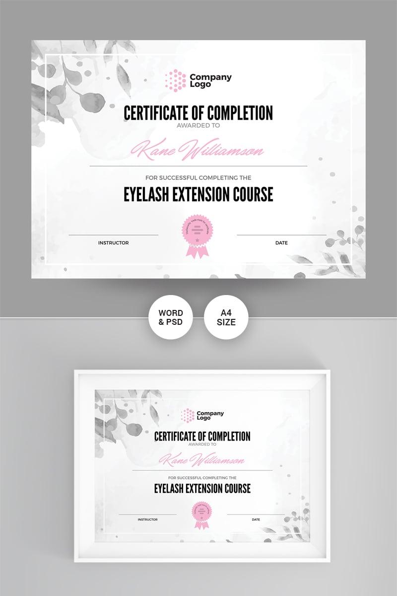 """Company"" Certificate Template №86867"