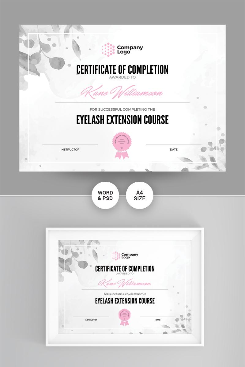 Company Template de Certificado №86867