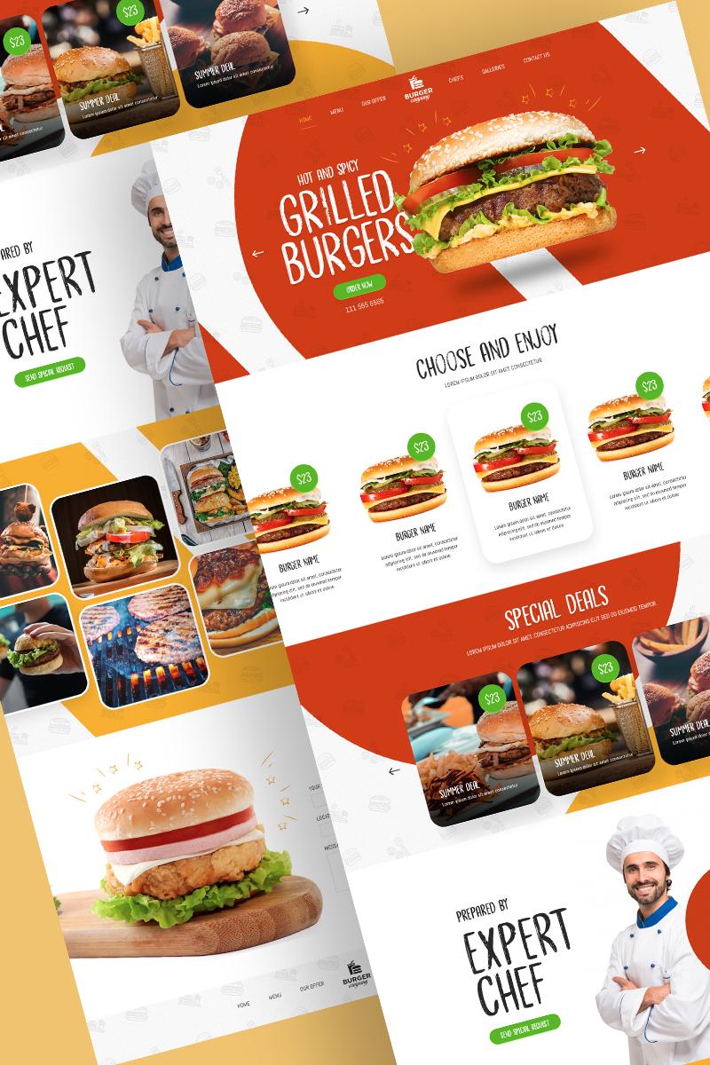 Food Industry - Food & Restaurant Psd #86888