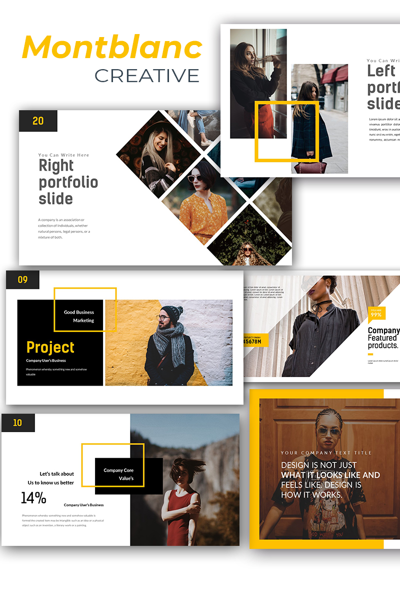 Montblanc Creative PowerPoint Template