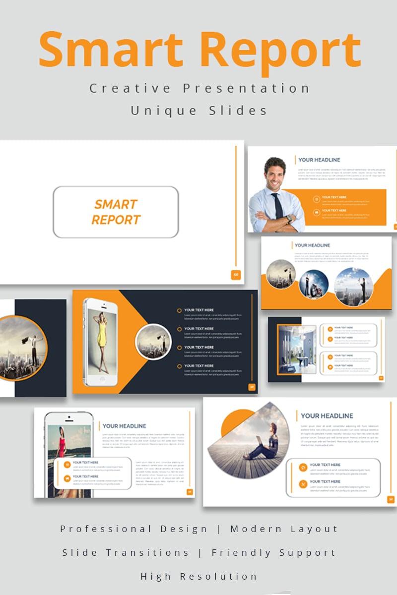 Smart Report Keynote sablon 86873