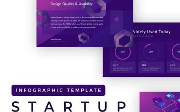 Startup Technology PowerPoint Template