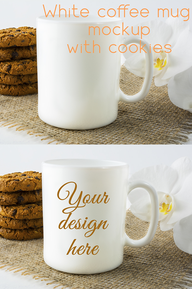 """Template Mockup del prodotto #86884 """"Coffee Mug"""" - screenshot"""