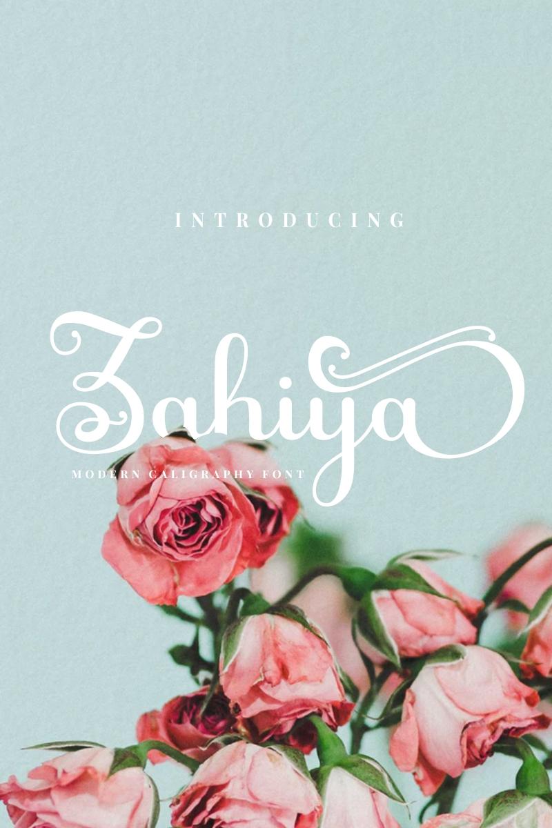Zahiya Font - screenshot