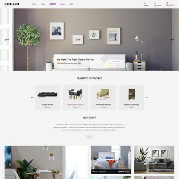 Купить  пофессиональные Shopify шаблоны. Купить шаблон #86945 и создать сайт.