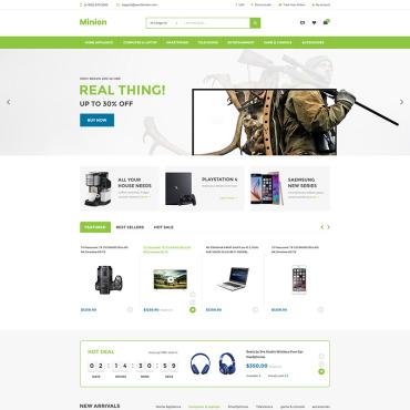 Купить  пофессиональные Shopify шаблоны. Купить шаблон #86971 и создать сайт.