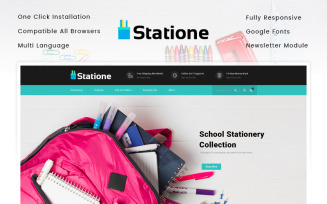 The Stationary Store OpenCart Template