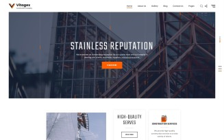 Vitagex - Construction Company Multipage Modern HTML Website Template