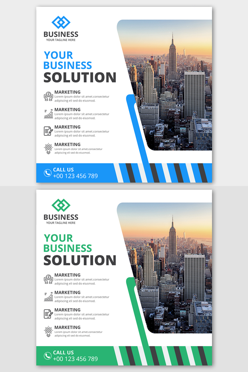 Business Instagram Post Banners Social Media