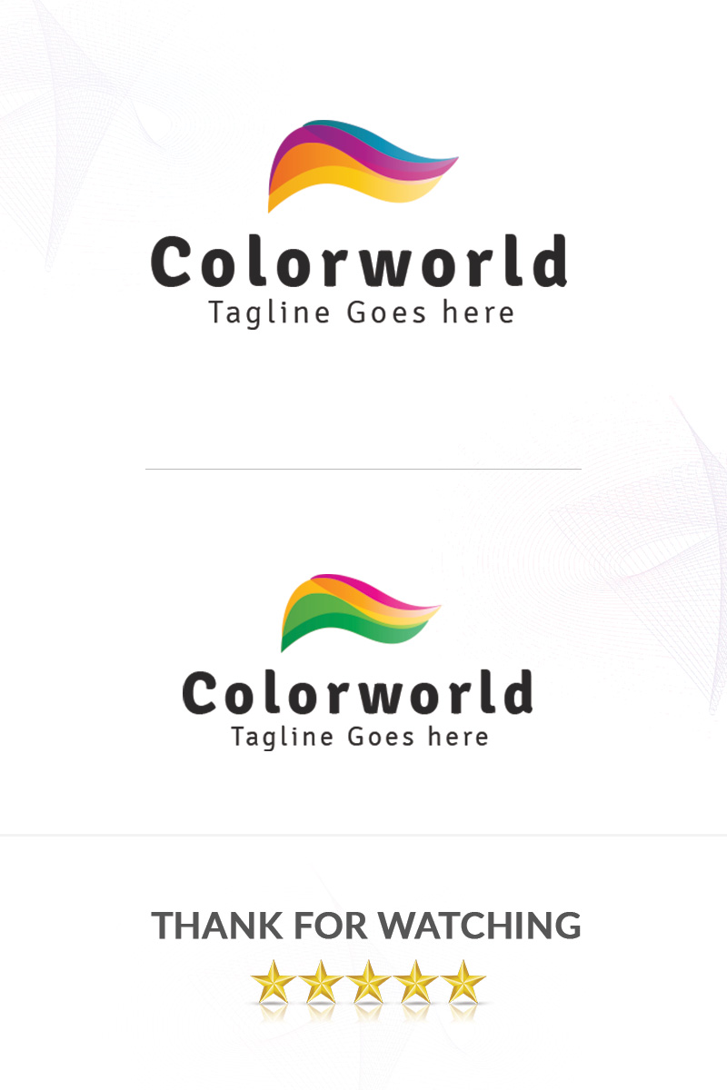 Colorworld Logo Template