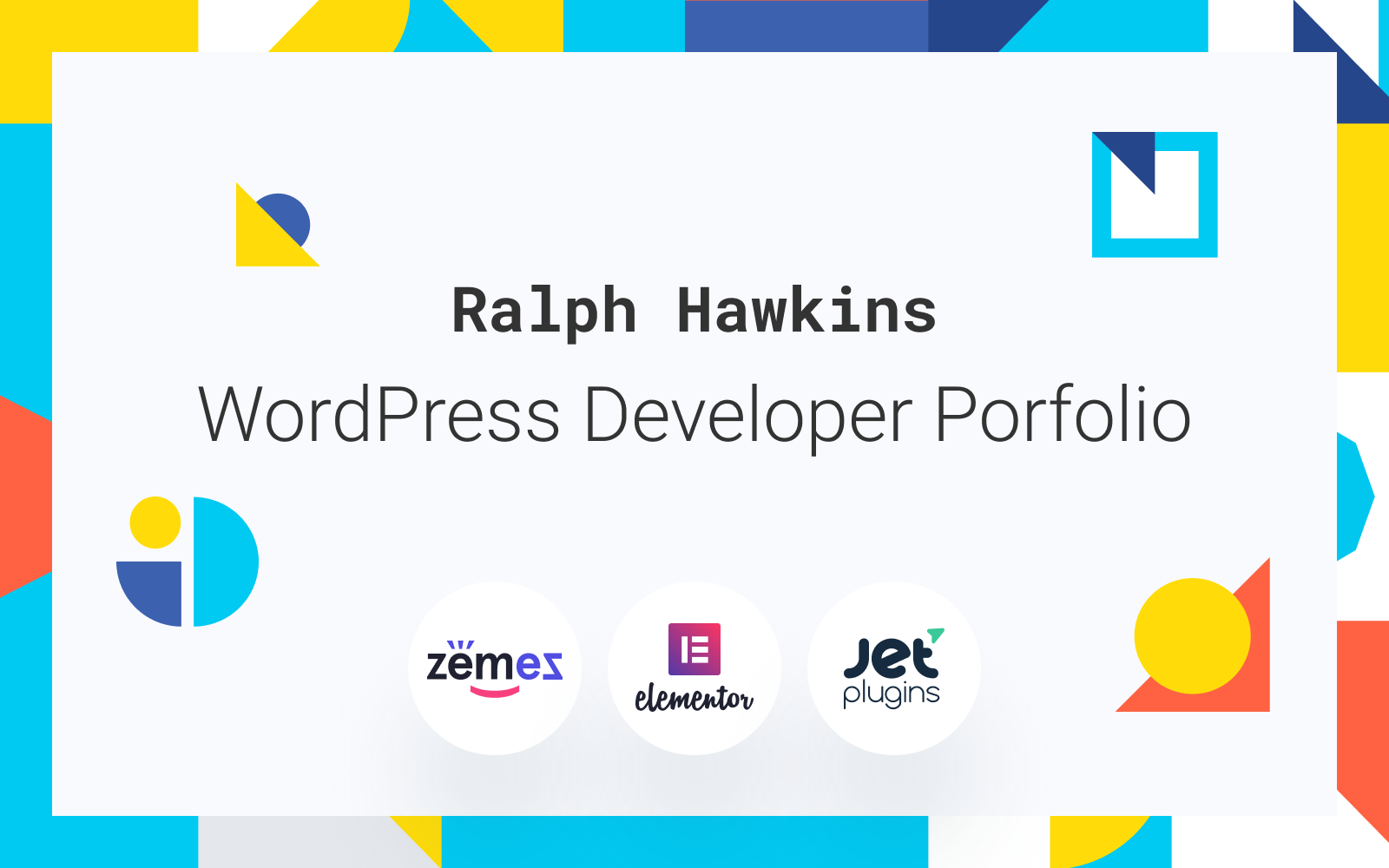 """Devling - Portfolio Website for Developer"" Responsive WordPress thema №86943"