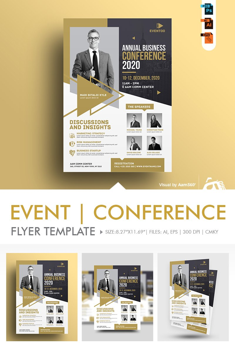 Event/Conference Flyer Corporate Identity Template