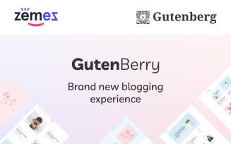 Gutenberry - Gutenberg-based Clean Blog WordPress Theme