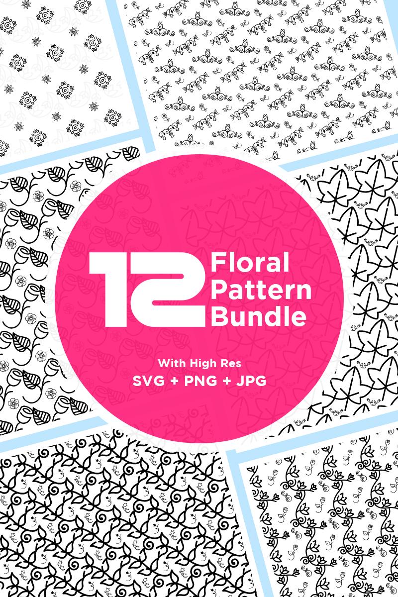 """High Definition Floral Bundle"" pattern  #86967"