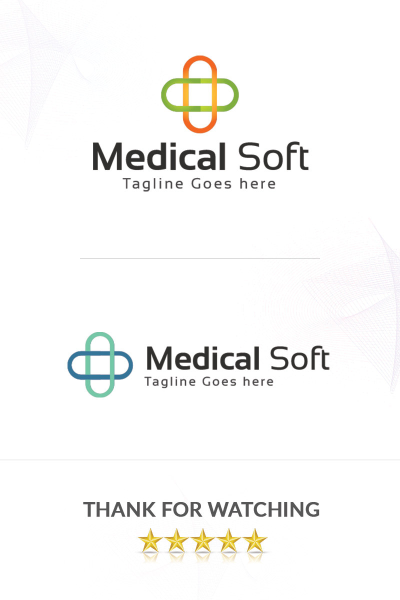 Medical Soft Logo Template