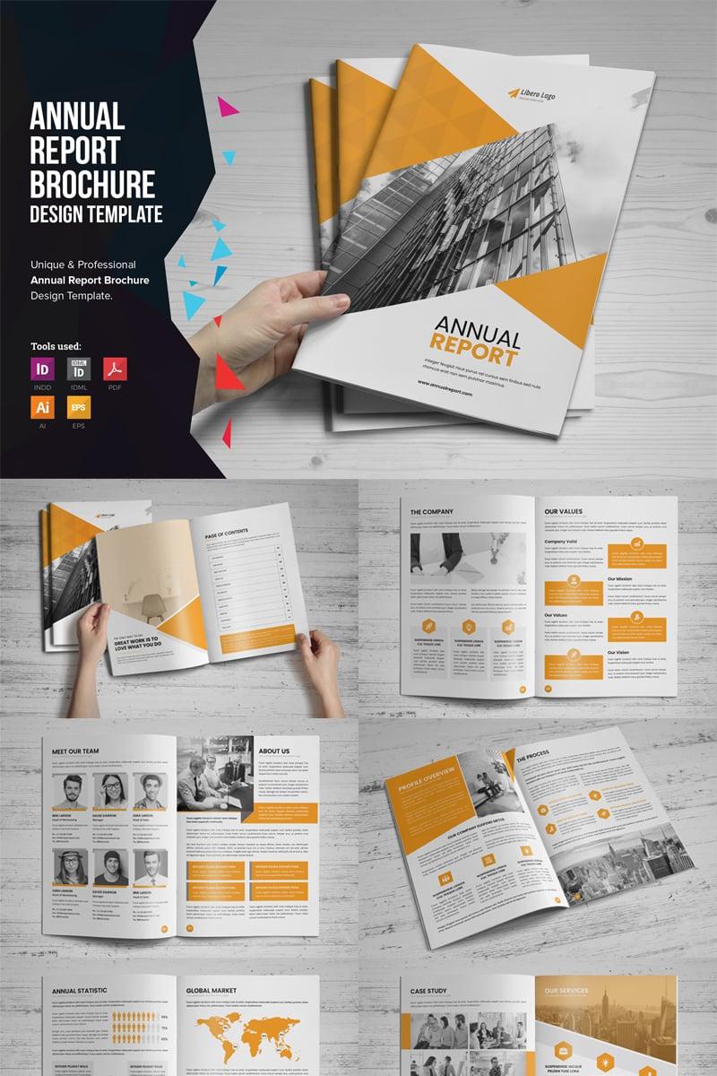 Mouri - Annual Report Design Corporate Identity Template - screenshot