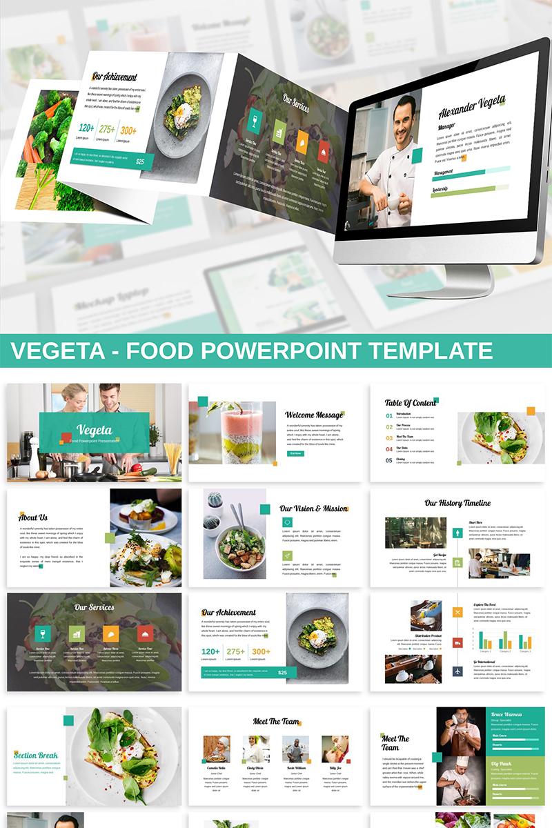 Vegeta - Food PowerPoint Template