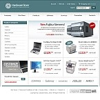 OsCommerce: Computers Online Store/Shop Electronics Most Popular osCommerce Templates