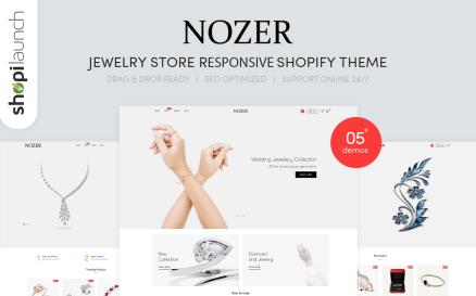 Nozer- Jewelry Store Responsive Shopify Theme
