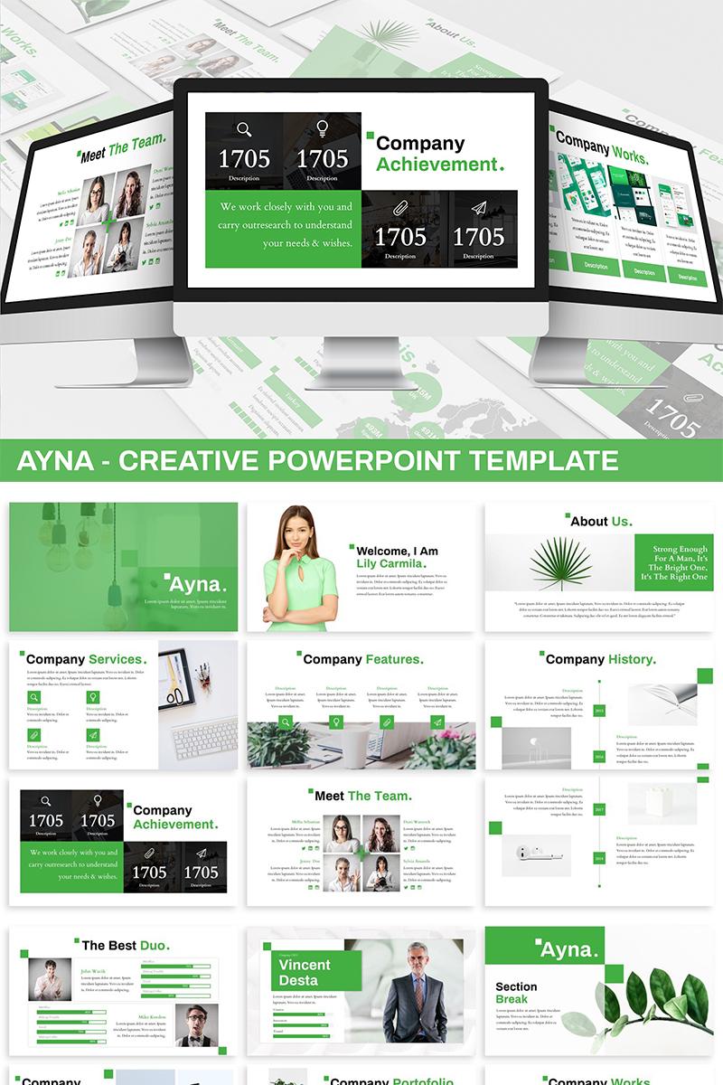 Ayna - Creative PowerPoint Template