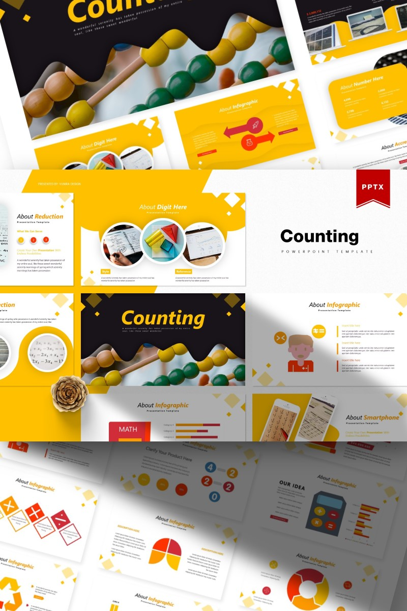Counting | PowerPoint Template