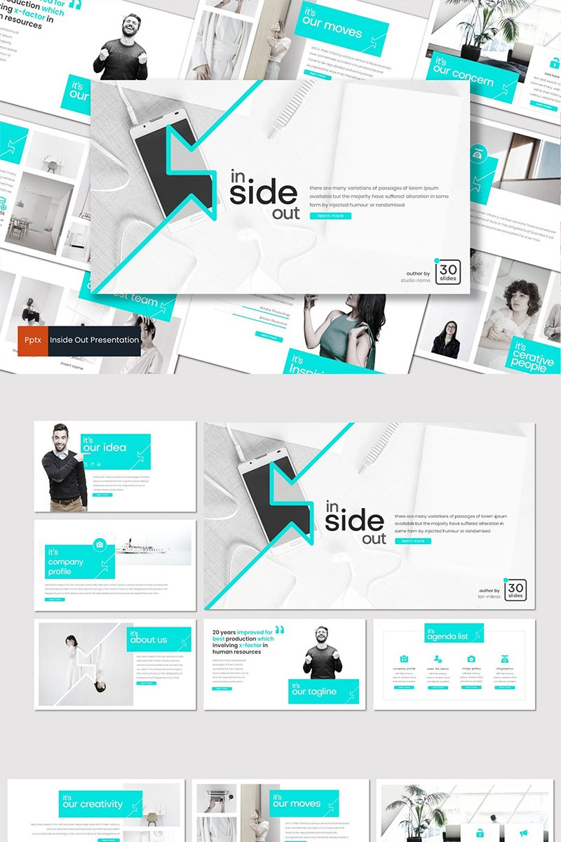 Inside Out PowerPoint Template