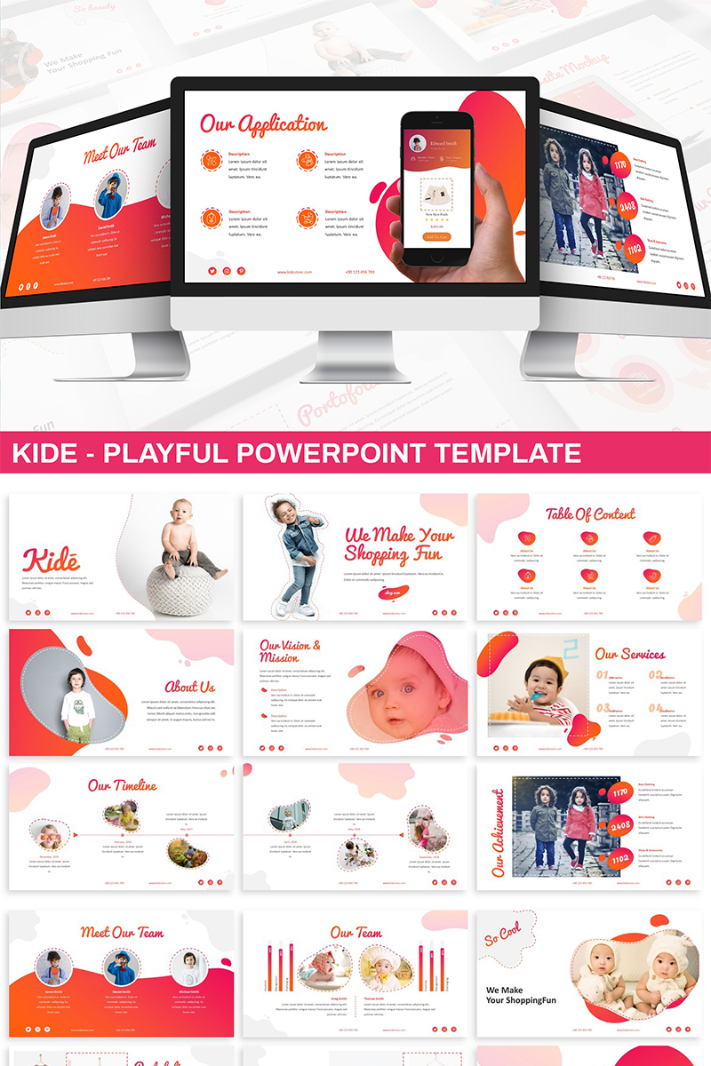 Kide - Playful PowerPoint Template