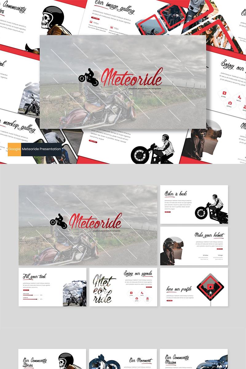 Meteoride Google Slides