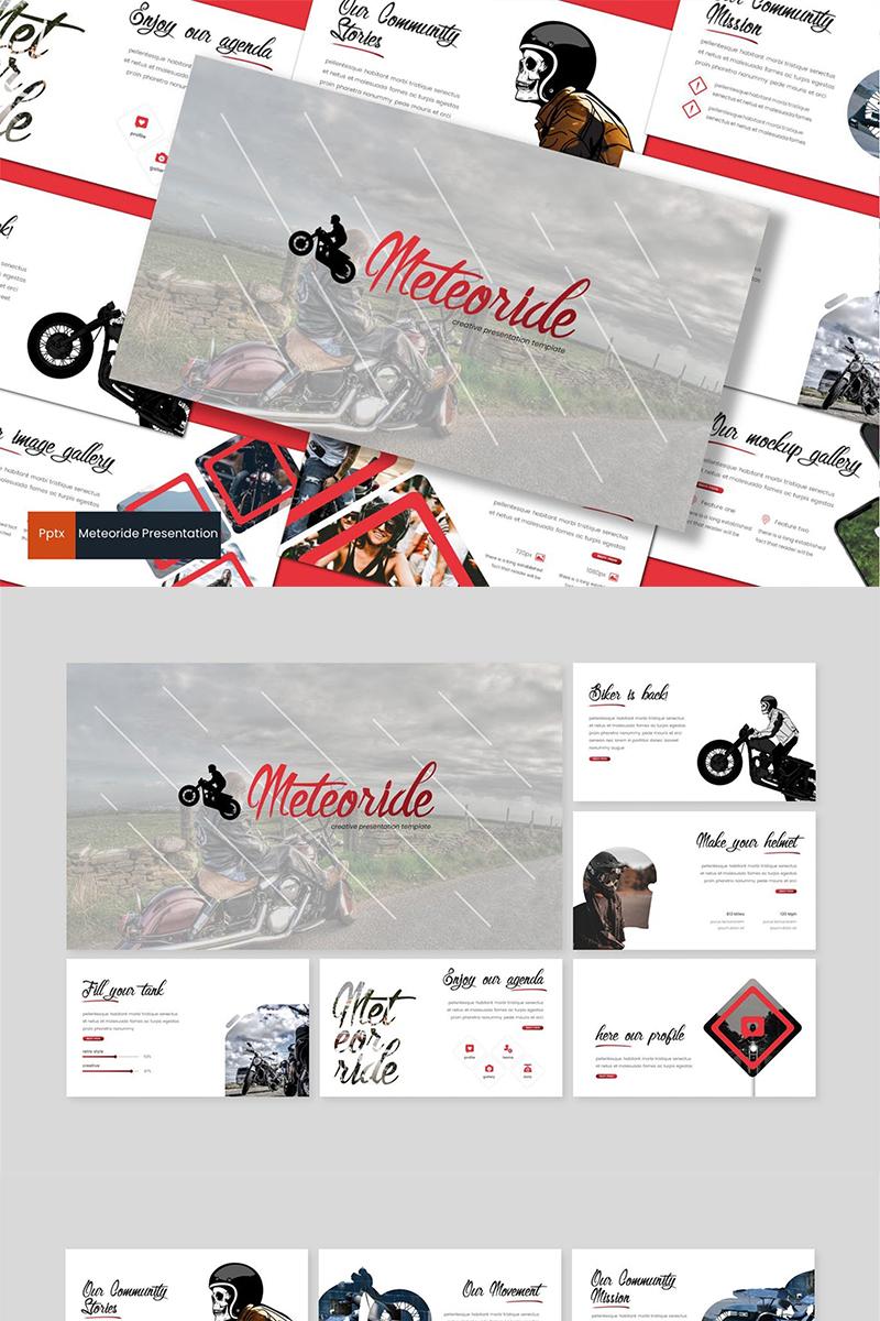 Meteoride PowerPoint Template - screenshot