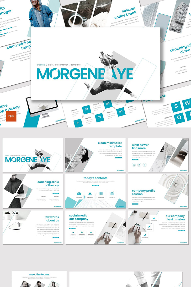 Morgenbaye PowerPoint Template