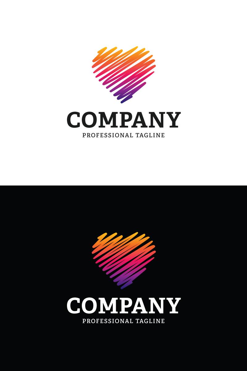 """Plantilla De Logotipo """"Art Love"""" #87091"""