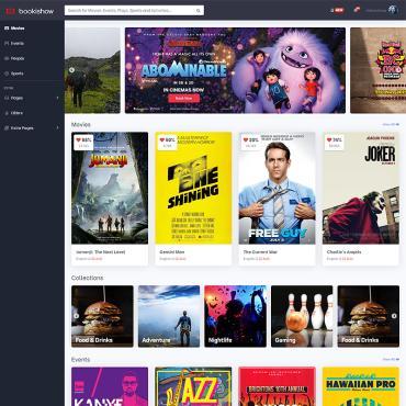 Купить  пофессиональные Bootstrap и html шаблоны. Купить шаблон #87181 и создать сайт.