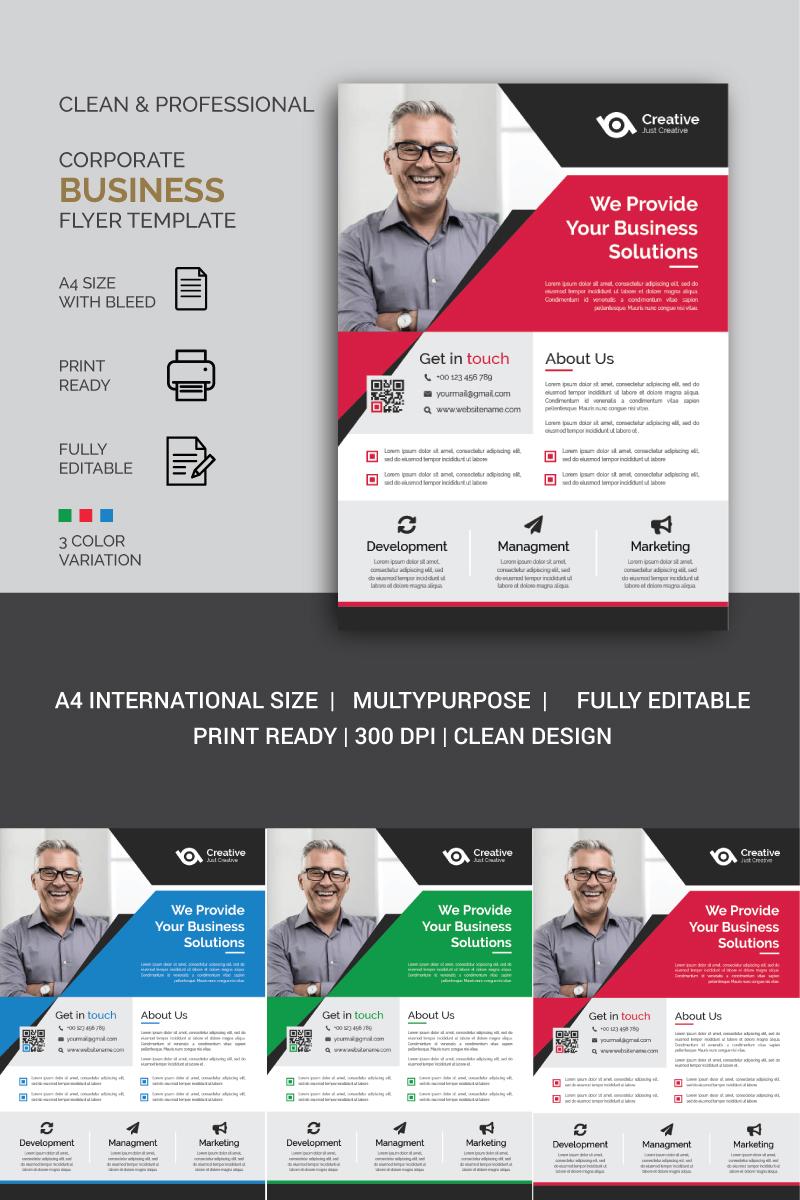 """""""Business Flyer"""" Bedrijfsidentiteit template №87193"""