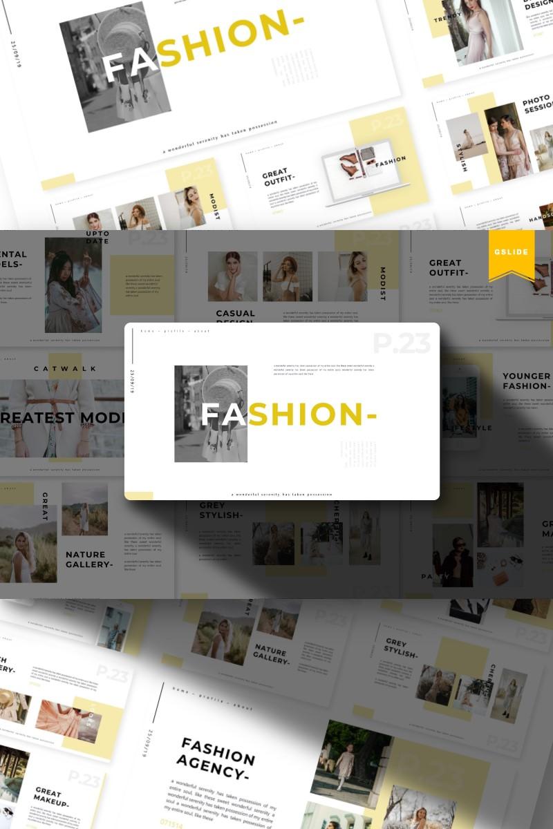 Fashion   Google Slides