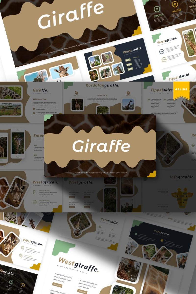 Giraffe | Google Slides №87157 - captura de tela