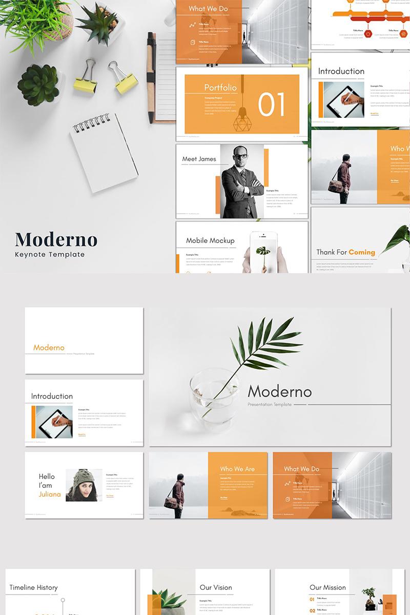 """Keynote Vorlage namens """"Moderno"""" #87180"""