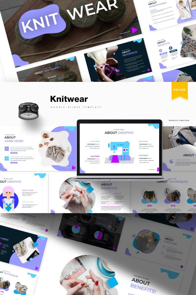 Knitwear | Google Slides - screenshot