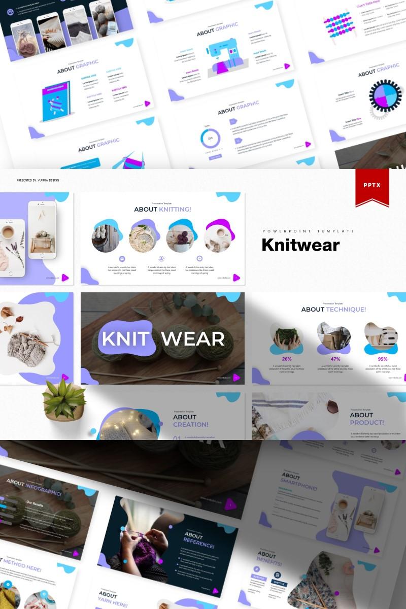 Knitwear | PowerPoint Template - screenshot