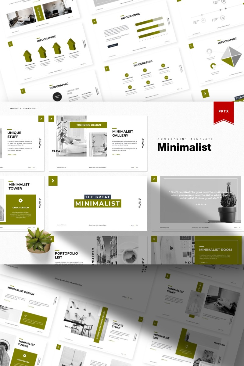 Minimalist | PowerPoint Template - screenshot