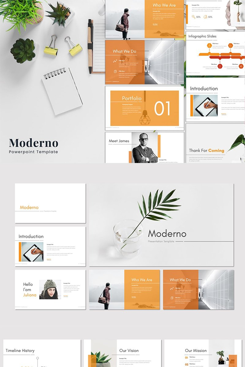 Moderno PowerPoint Template