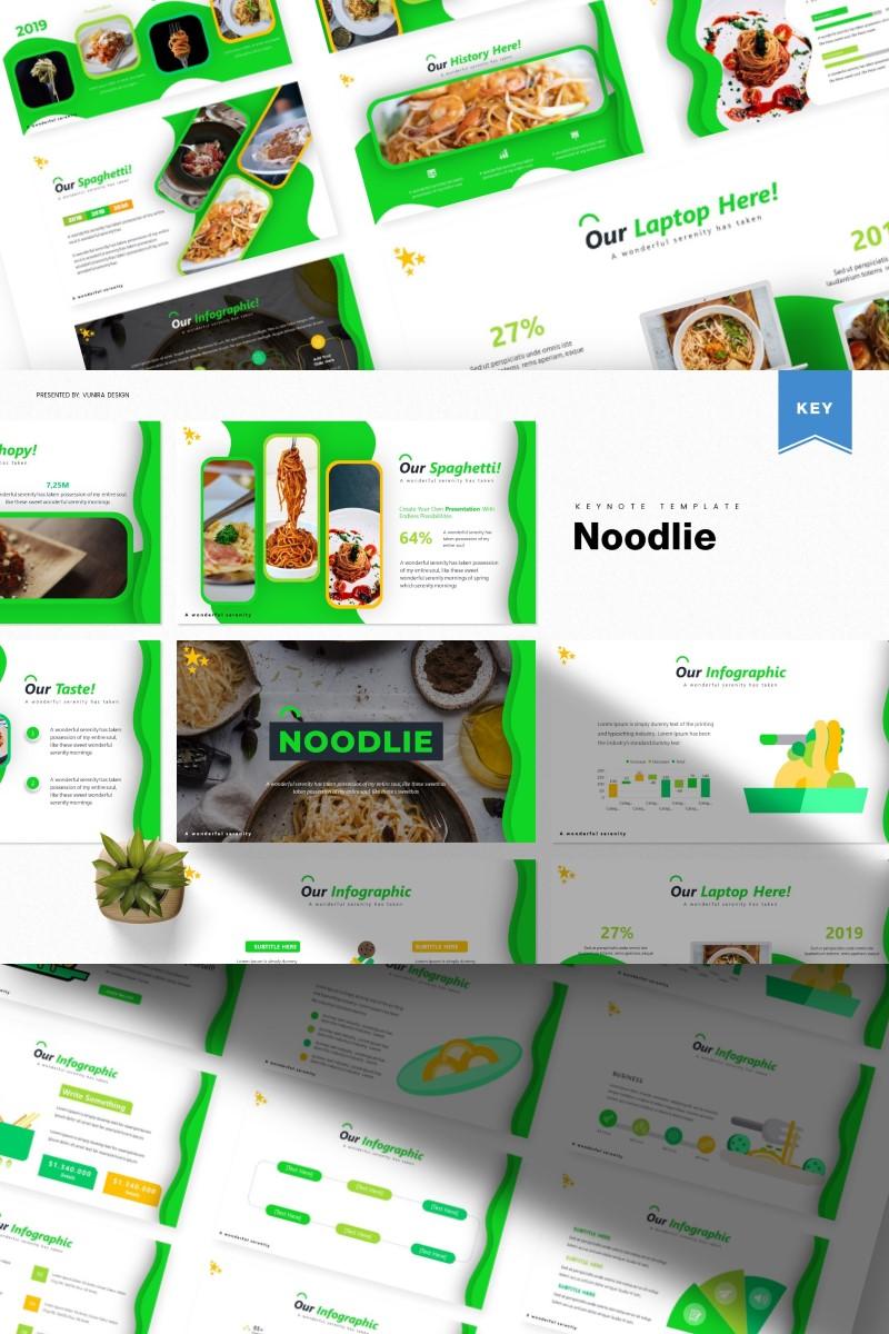 Noodie | Keynote Template - screenshot