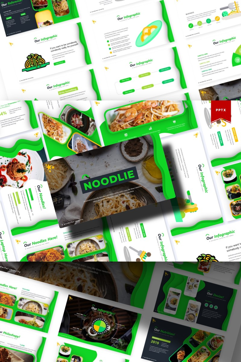 Noodie | PowerPoint Template - screenshot