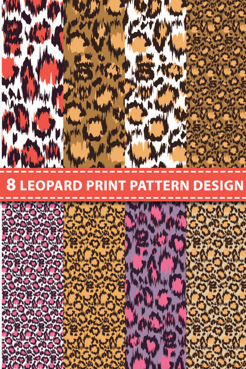 """Pattern """"8 Leopard"""" #87116"""